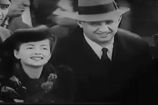 فیلمی دیده نشده از اکران فیلم «بربادرفته» در آتلانتا با حضور ویوین لی و کلارک گیبل