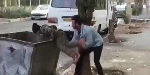 عاملان آزار کودک زبالهگرد تسلیم پلیس شدند/ توضیحات پلیس