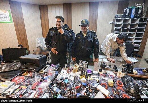 دستگیری باند سارقان در ملک بازیگر معروف