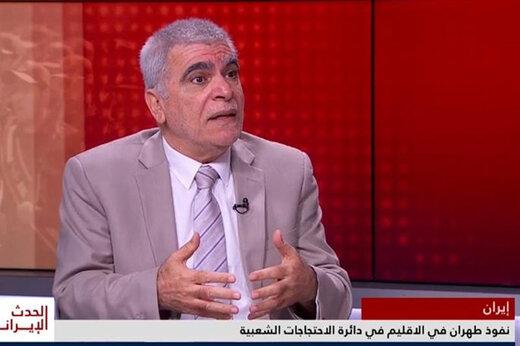 فیلم   پاسخ تحلیلگر عراقی به اتهامات ضدایرانی در شبکه لندنی