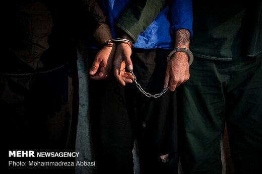 اجرای طرح پاکسازی و دستگیری ۵۳ سارق حرفهای در اهواز