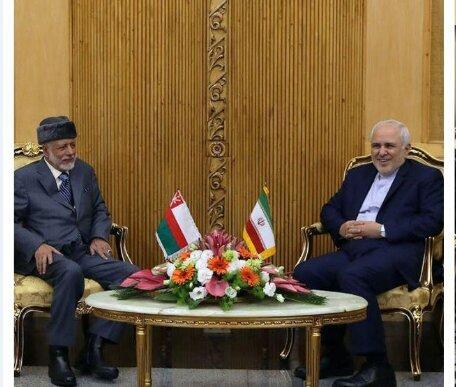در دیدار ظریف با همتای عمانی چه گذشت؟/عکس