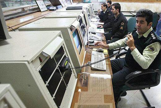 مردم تهران از اول امسال ۸ میلیون بار با ۱۱۰ تماس گرفتند