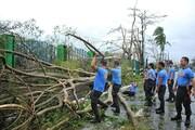 تصاویر | بلایی که طوفان کاموری بر سر فیلیپین آورد