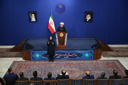 Iran proud of giving services to disabled people, President Rouhani says