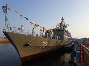 ناوشکن البرز و زیر دریایی غدیر ۹۴۵ به ناوگان نیروی دریایی ارتش ملحق شد +عکس