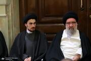 عکسی از همنشینی پسر سیدحسن خمینی و امام جمعه تهران