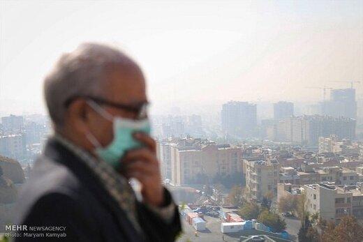 تهرانی بارانی هم آلوده است/ شاخص آلودگی هوا ۱۳۹