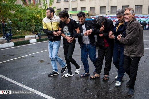 طرح «رعد ۳۱ » پلیس پیشگیری پایتخت