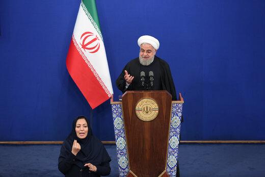 روحانی:آمریکا برخلاف شعارهایش، برای مذاکره پیام خصوصی میفرستد