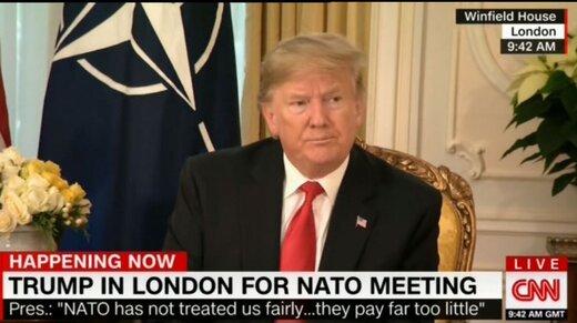 ترامپ: ایران در حال کشتن هزاران نفر است!