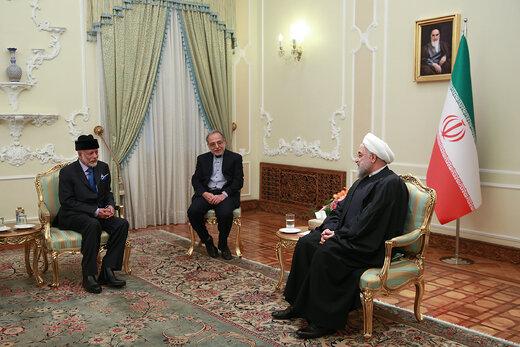 روحانی: مشکلی برای توسعه روابط با عربستان نداریم/ یوسف بن علوی: ابتکار ایران در طرح صلح هرمز به نفع ثبات و امنیت کشورهای منطقه است