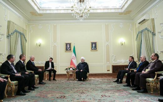 در دیدار روحانی و معاون نخست وزیر جمهوری آذربایجان چه گذشت؟