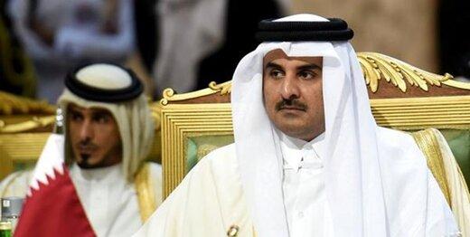 امیر قطر به ریاض نرفت