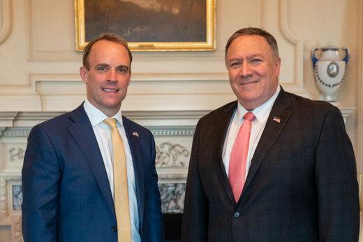 وزرای خارجه آمریکا و انگلیس درباره ایران گفتوگو کردند