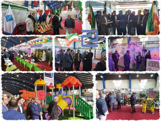 افتتاح اولین نمایشگاه خدمات شهری،حمل و نقل،فضای سبز و مبلمان شهری در سمنان