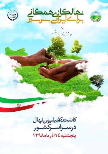 بیش از ۳۳۷ هزار نهال در استان سمنان کاشته میشود