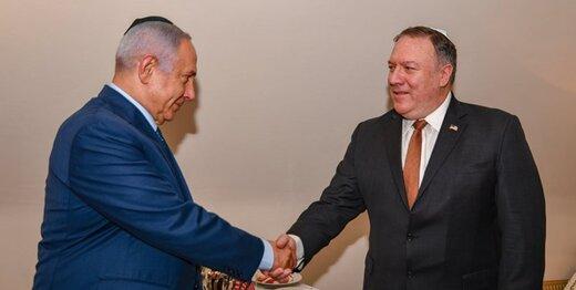 نتانیاهو در دیدار پمپئو: موضوع گفتوگویم ایران و ایران و ایران است!