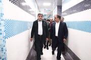 حناچی از گذر نوآوری در میدانگاه هفت تیر بازدید کرد