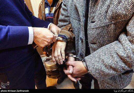 بازداشت کسی که بانکها را در ملارد آتش میزد