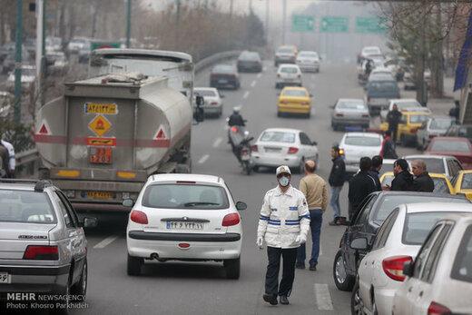 هوای تهران باز هم برای گروههای حساس در شرایط ناسالم قرار دارد
