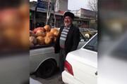 فیلم | میوه فروش اردبیلی ، این بار درحال فروختن کدو تنبل