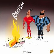 دو ستاره فوتبال علیه روزنامه نژادپرست!