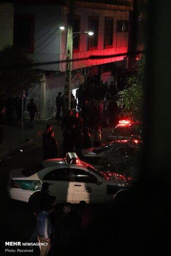 تیراندازی اشرار در خیابان خاتم الانبیا تهران