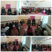 کارگاه آموزشی آشنایی با قوانین خانواده در روستای برازان  توسط موسسه تلاشگران سلامت برگزار شد