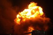فیلم | لحظه انفجار مهیب یک پمپ بنزین در مدینه