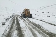 روستاهای بام ایران در محاصره برف