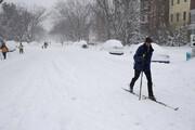 فیلم | تایم لپسی دیدنی از بارش 3 روزه برف در نیویورک