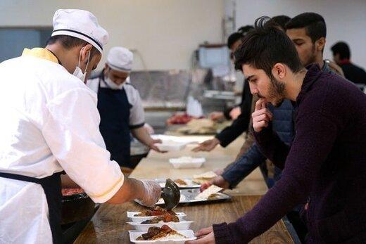 توضیح دانشگاه شهید بهشتی درباره کیفیت پایین غذای دانشجویان