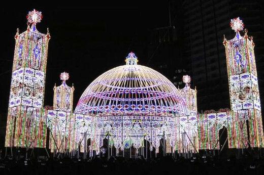 فیلم | «جشنواره روشنایی» به یاد قربانیان زلزله ۲۴ سال قبل ژاپن