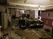 تصاویر | بلایی که انفجار گاز بر سر خانه جنوب تهران آورد
