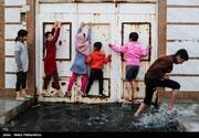 تصاویر   طغیان فاضلاب در خیابانهای کارون