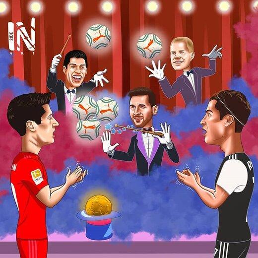 اینم شعبده بازی جدید لیونل مسی!
