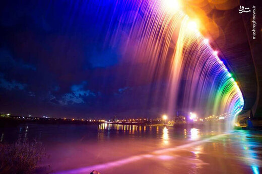 طولانیترین آبشار مصنوعی خاورمیانه