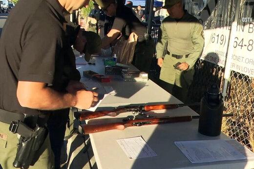 فیلم | کارت هدیه و اسکیت برد در ازای اسلحه در کالیفرنیا