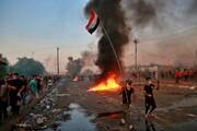 خروش مردم بغداد علیه آمریکا