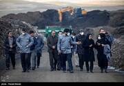 تصاویر | سفیر اتریش در مرکز بازیافت زباله کرمانشاه