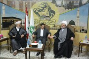 المستشار الثقافي الايراني زار تجمع العلماء: ضرورة التعاون لإرساء معالم الوحدة الاسلامية