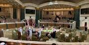 صندلی های خالی سران عرب در شورای همکاری/عکس