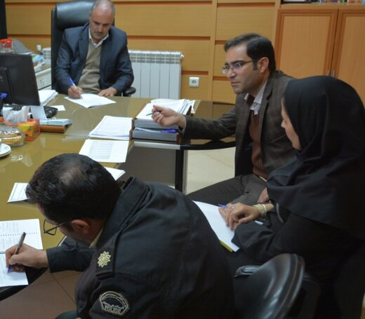 برگزاری جلسه نظارت بهینه بر جذب و توزیع گاز مایع در منطقه چهارمحال و بختیاری