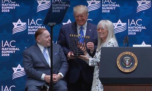 سرمایه دار معروف صهیونیست خطاب به ترامپ:بزرگترین کاری که برای اسرائیل انجام دادید، شکستن توافق هستهای با ایران بود