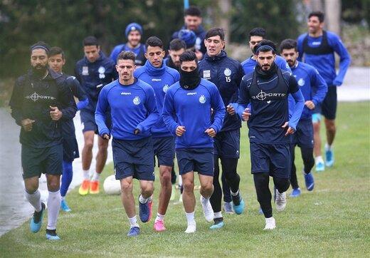 ناراحتی بازیکنان استقلال و غیبت زرینچه در تمرین امروز