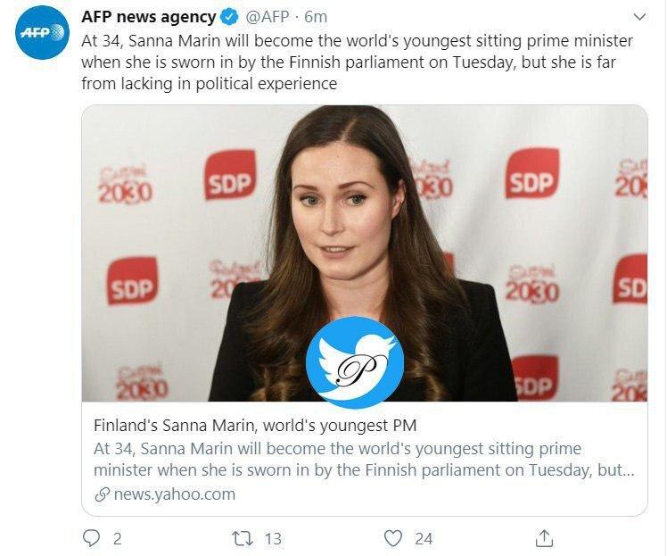 فنلاندی ها جوان ترین نخست وزیر تاریخ اروپا را انتخاب کردند.