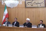 روحاني : علينا إما الالتفاف على الحظر أو إجبار الأعداء على التوبة