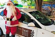 فیلم | هدیه به سبک بابانوئلی که راننده تاکسی است