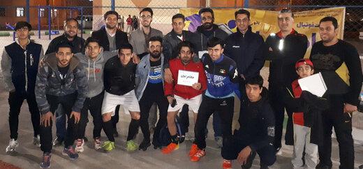 بانک حکمت  با اقتدار قهرمان مسابقات فوتبال جام بهاران گرامیداشت هفته بسیج شد